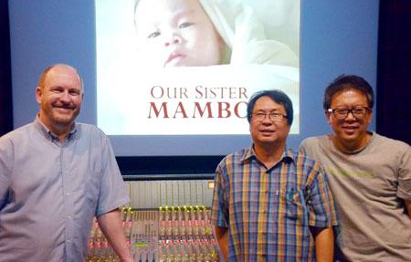 CEDAR at Ramindra Sound Recording Studios in Bangkok