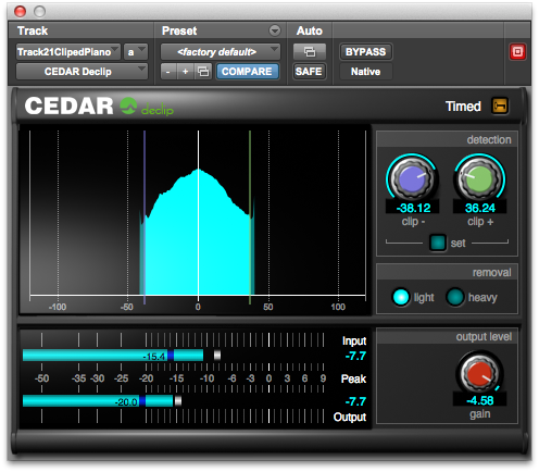 CEDAR Studio 6 Declip