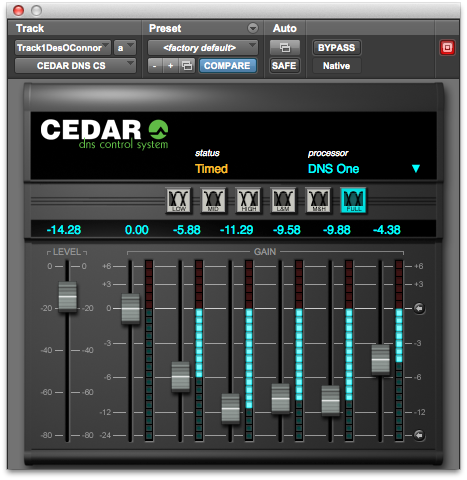 CEDAR Studio 6 DNS One