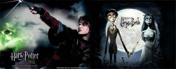 Harry Potter and The Corpse Bride'